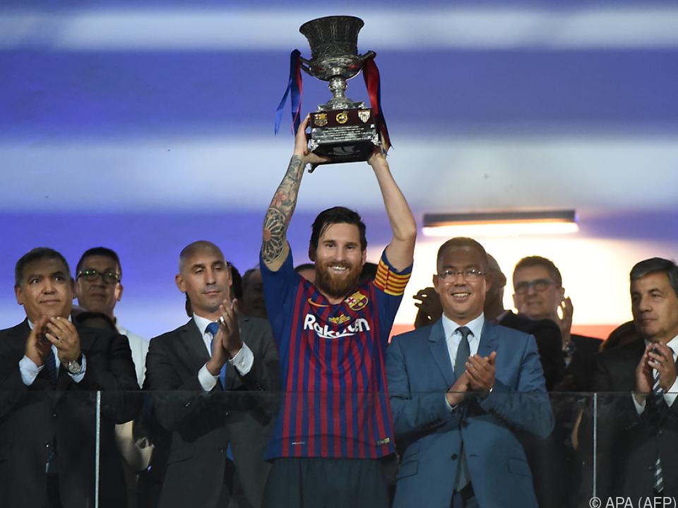 Ist Messi jetzt allein auf weiter Flur?