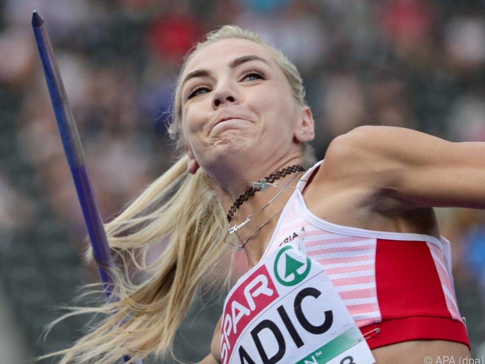 Ivona Dadic verpasste die Bronzemedaille knapp