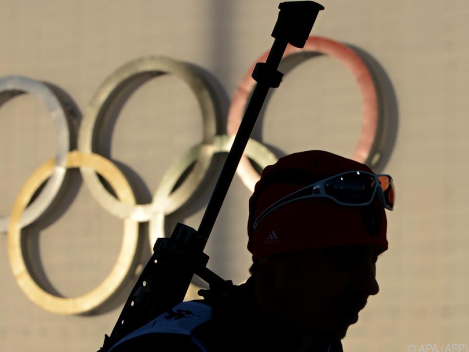 Jewgenij Ustjugow während der Olympischen Spiele 2014 in Sotschi
