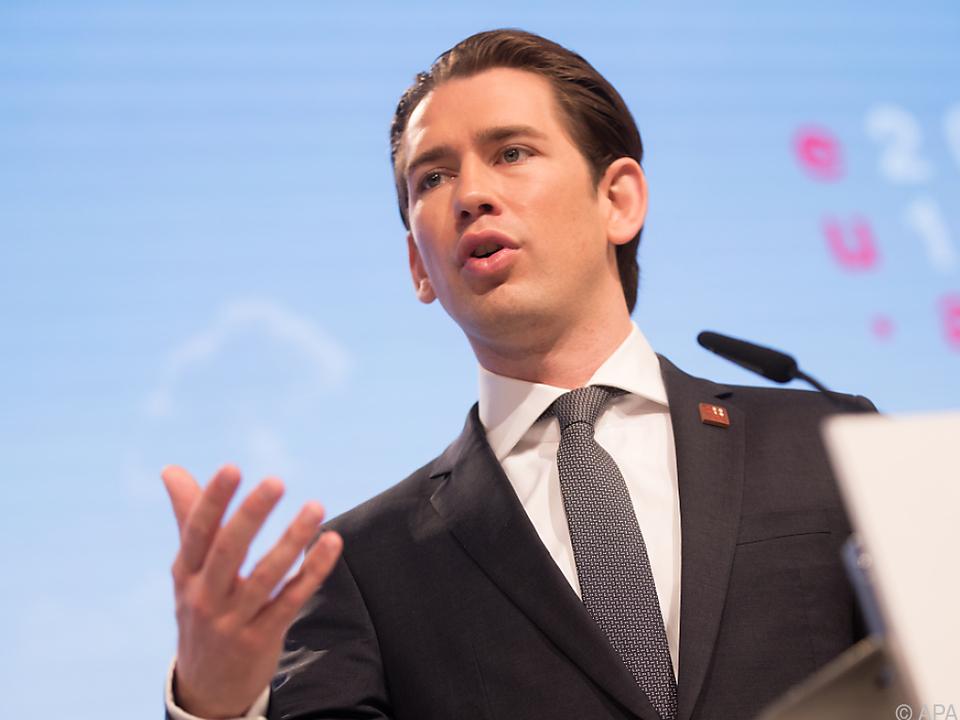 Kanzler Kurz hält Sozialversicherungsreform für notwendig