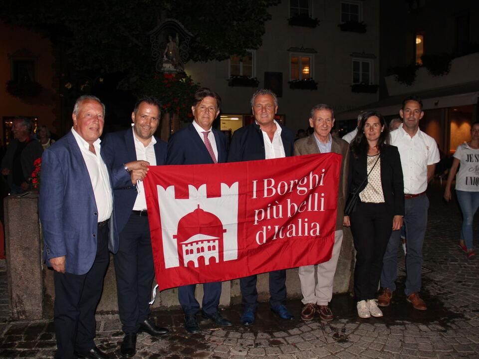 Kastelruth - Verleihung des Titels Borghi più belli d\'Italia