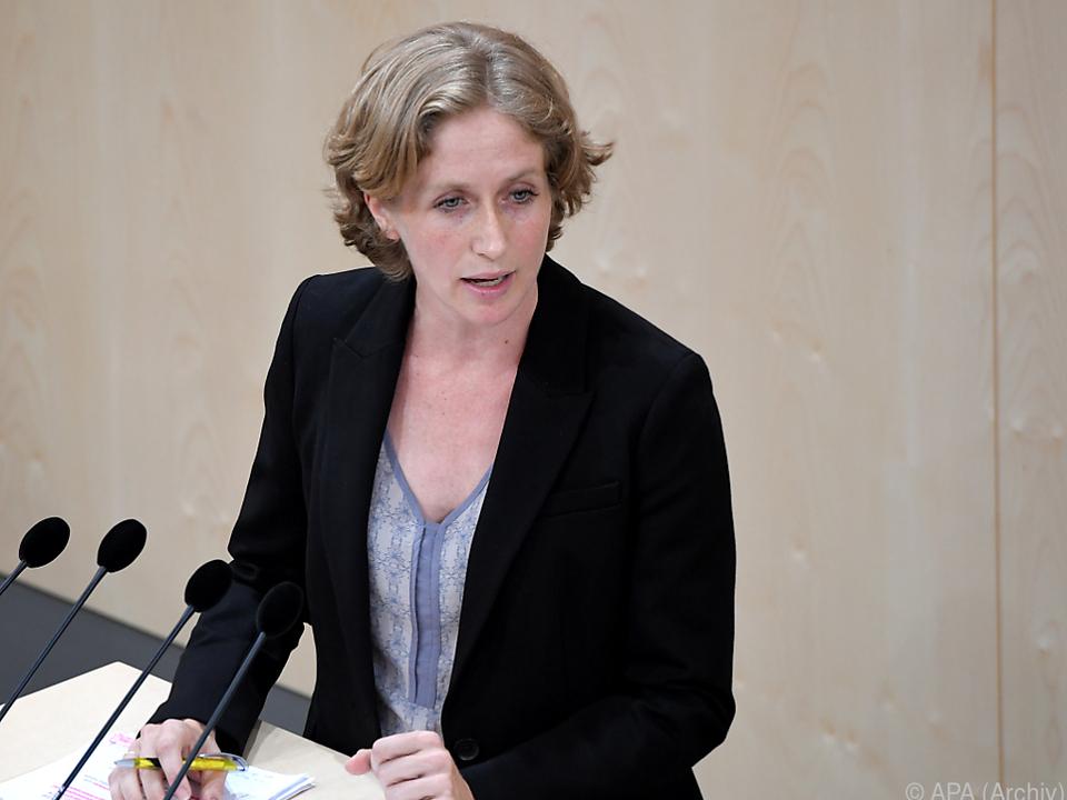 Krisper verwies auf eine parlamentarische Anfrage