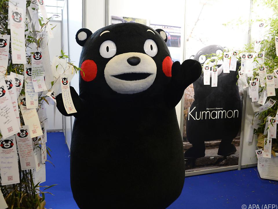 Kumamon erobert das Internet