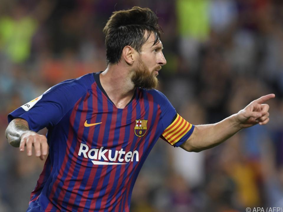 Lionel Messi traf zum Auftakt doppelt