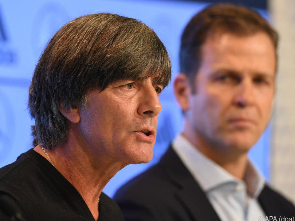 Löw sah Arroganz, Bierhoff Selbstgefälligkeit im deutschen Auftreten