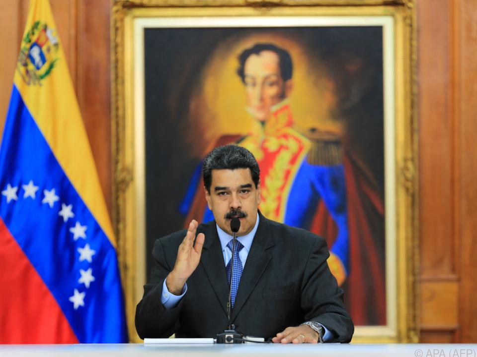 Maduro kündigte \