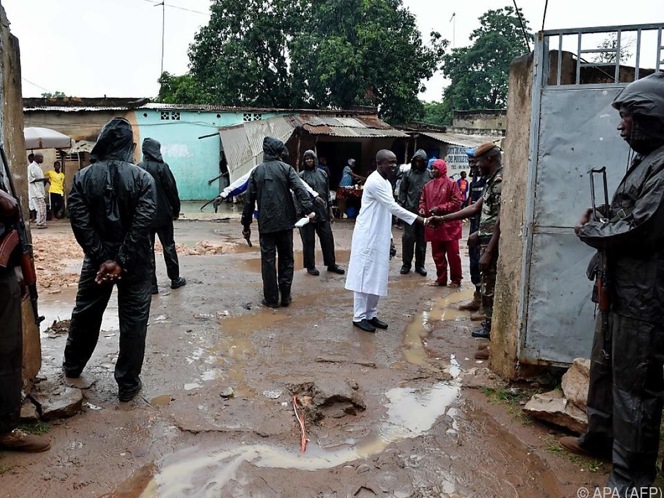 Mali wählt - und Soldaten sorgen für Sicherheit