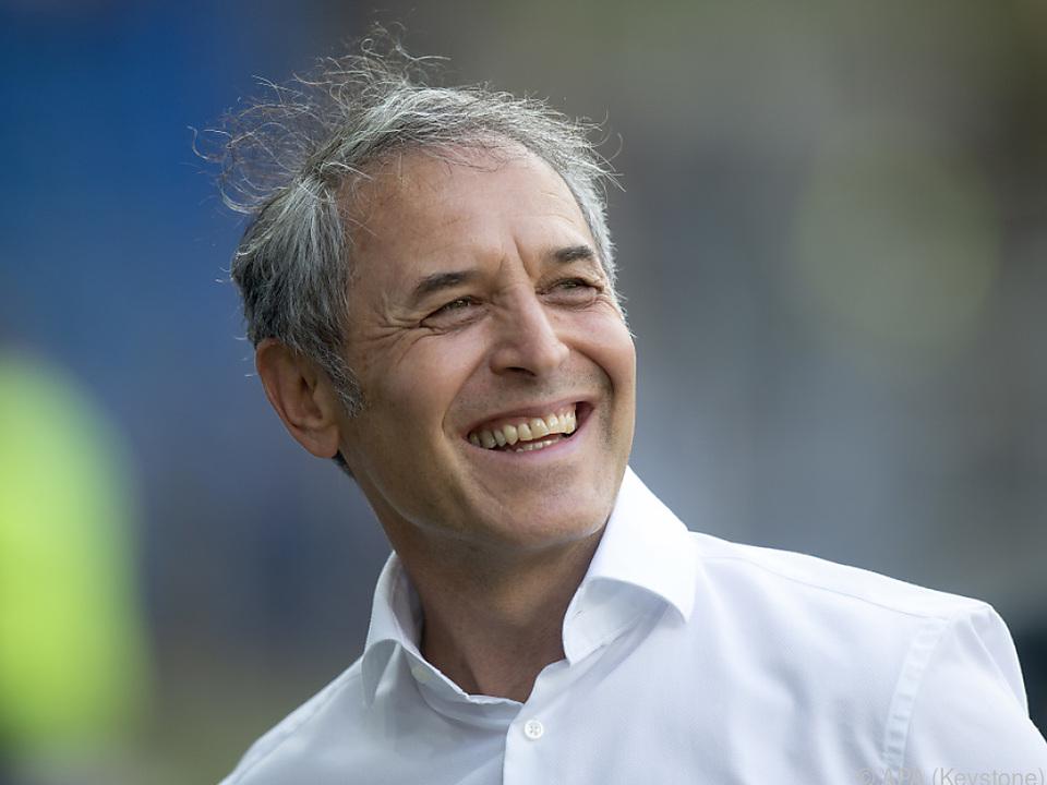 Marcel Koller führte FC Basel zum ersten Saison-Ligasieg