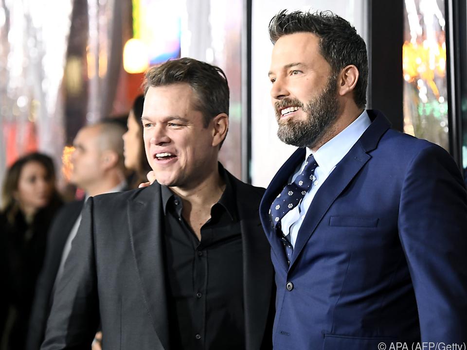 Matt Damon und Ben Affleck arbeiten wieder zusammen