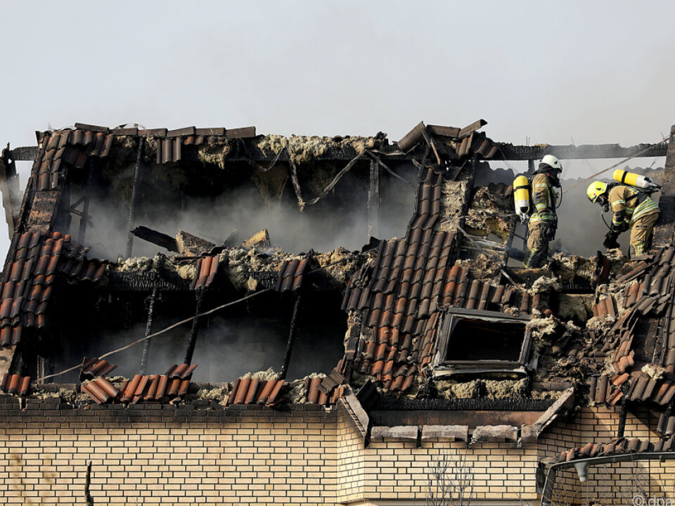 Mehrere Häuser wurden erheblich beschädigt