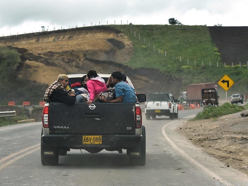 Mittlerweile haben 2,3 Millionen Menschen Venezuela verlassen