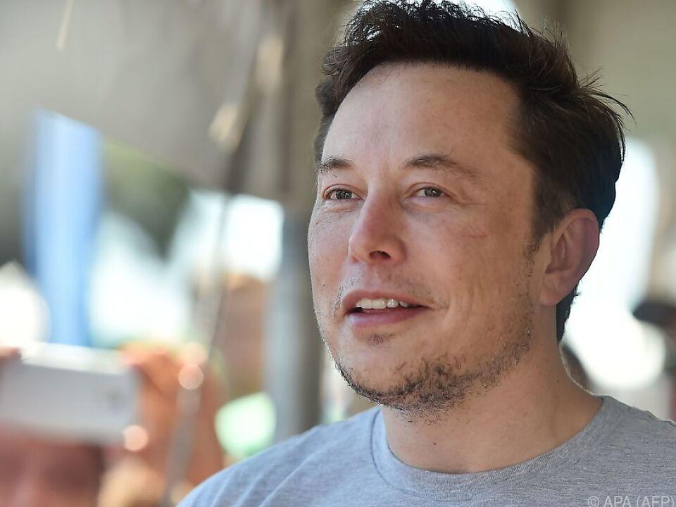 Musk scheint es ernst zu meinen