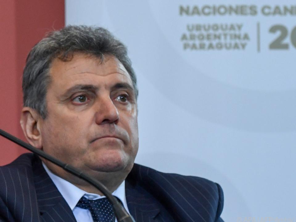 Nach dem Rücktritt von Valdez war Uruguays Verband führungslos