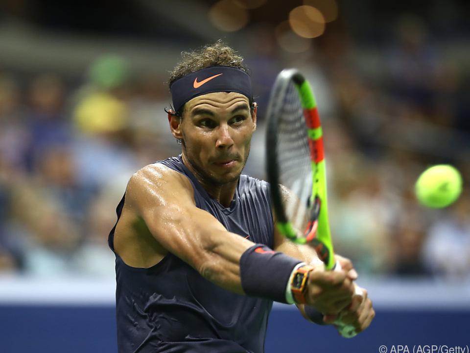 Nadal trotzte der Hitze