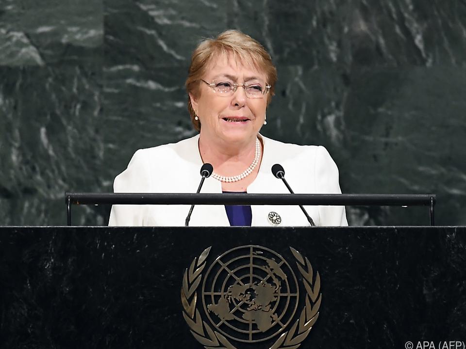 Neue Aufgabe für Michelle Bachelet