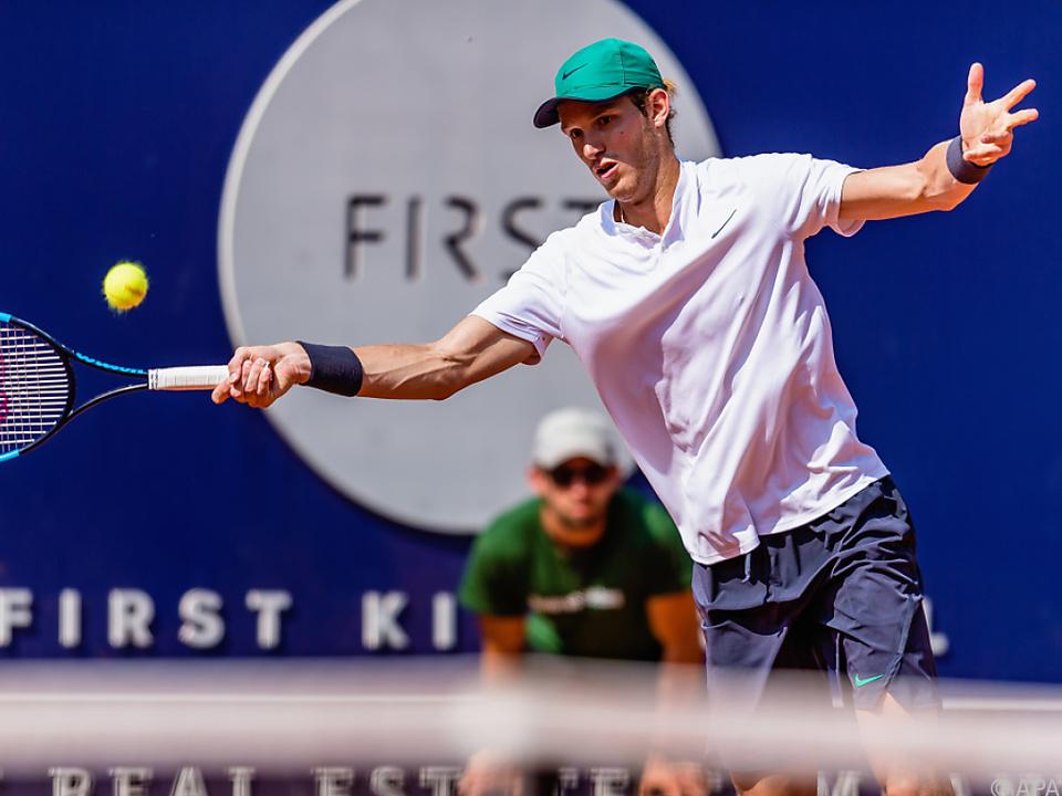 Nicholas Jarry steht in Kitzbühel im Halbfinale