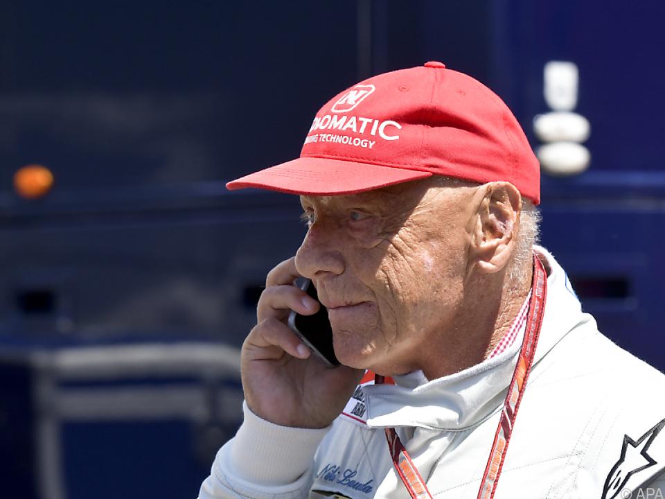 Niki Lauda liegt derzeit im AKH Wien