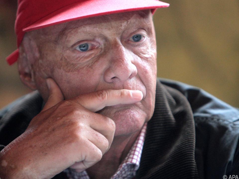 Niki Lauda wird im Wiener AKH behandelt