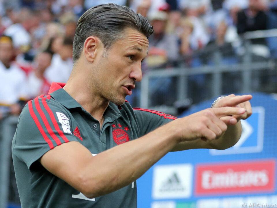 Niko Kovac führt den FC Bayern als neuer Trainer in die Saison