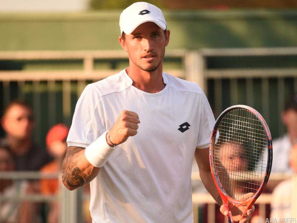 Novak ist einer der fünf ÖTV-Spieler in der Qualifikation