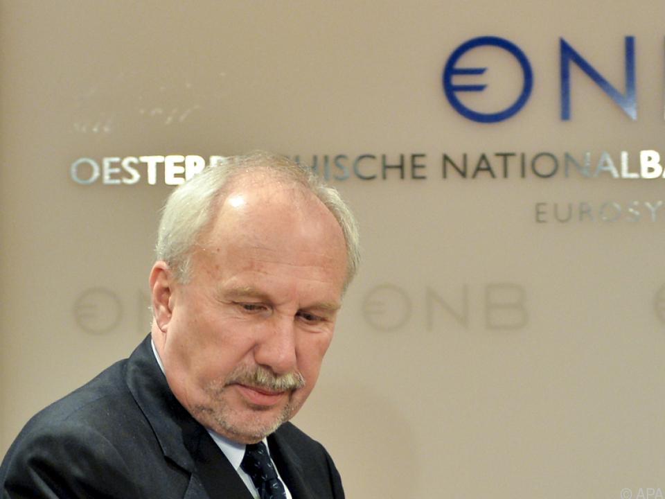OeNB-Chef Nowotny findet die Entwicklung \