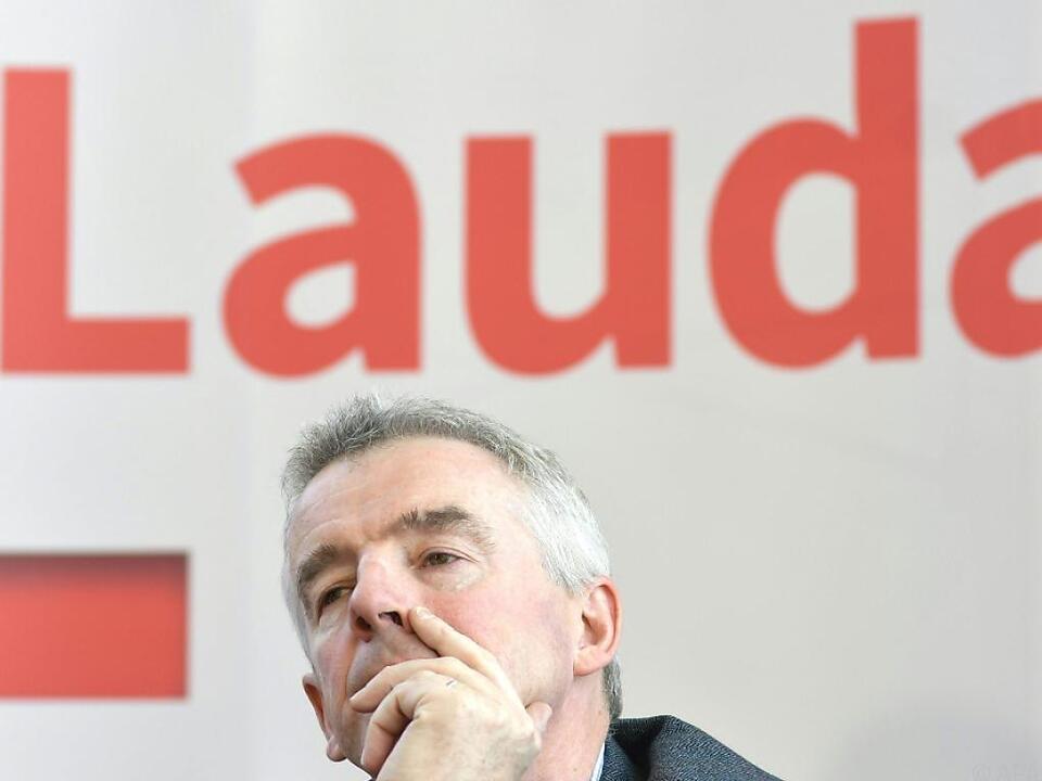 O\'Learys Ryanair hält nun 75 Prozent an Laudamotion