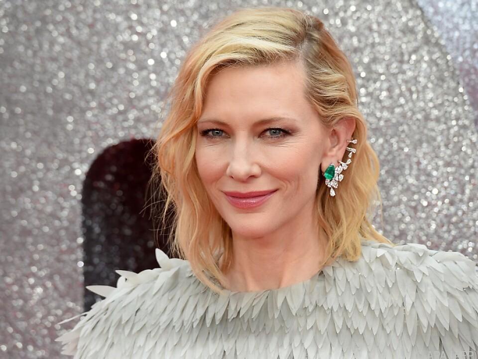 Oscar-Preisträgerin Blanchett wird beim Filmfest in Rom anwesend sein