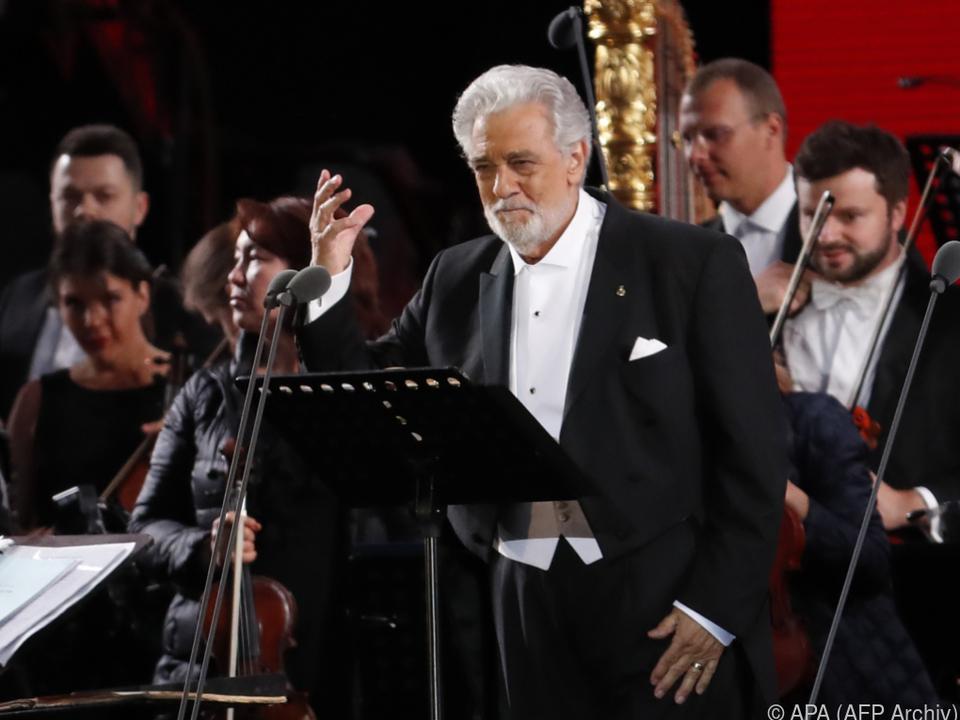 Placido Domingo bei einem Gala-Konzert 2018
