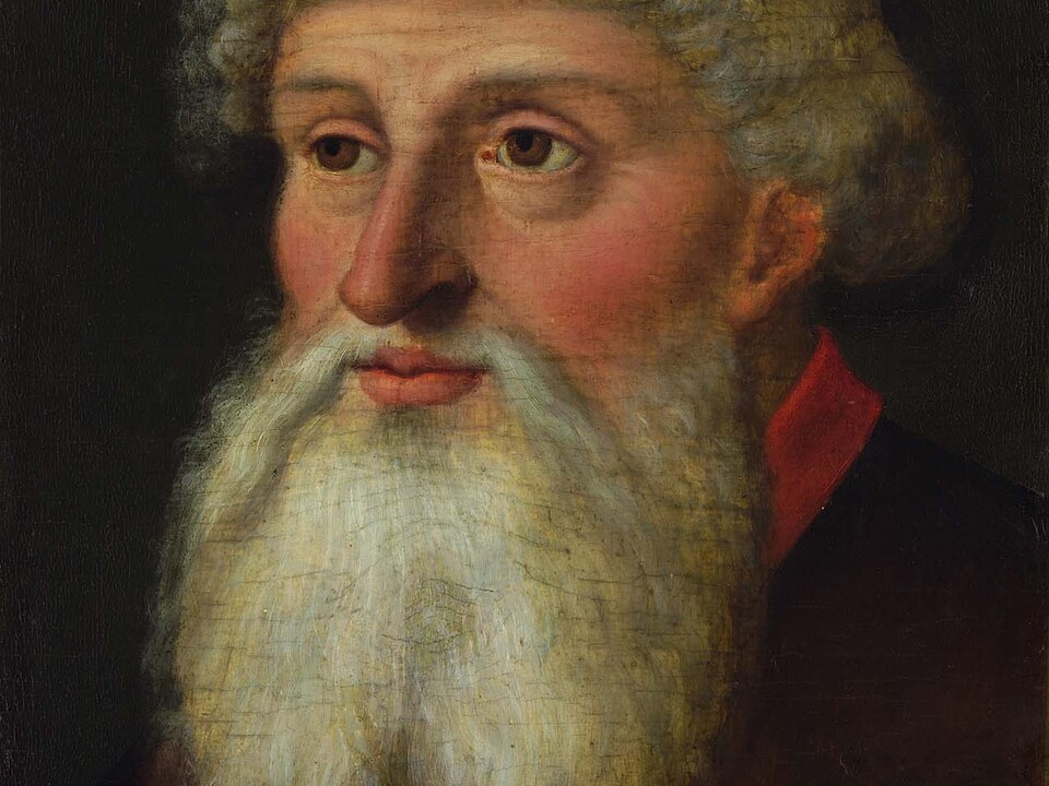 Porträt Friedrich mit der leeren Tasche
