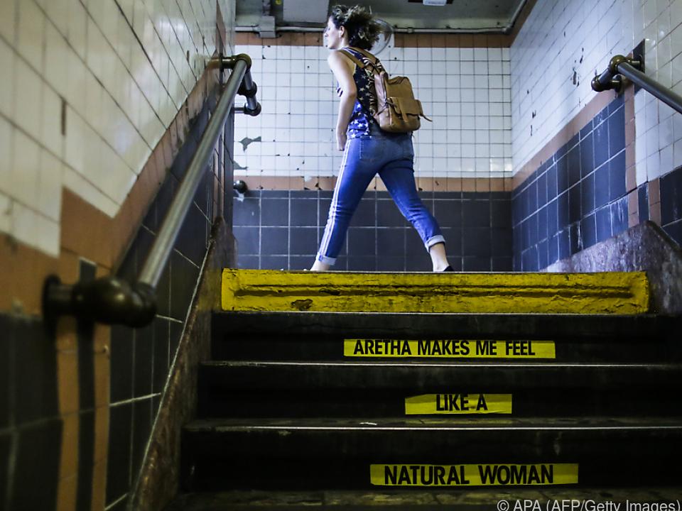 Eigentlich ist die U-Bahn-Station Benjamin Franklin gewidmet