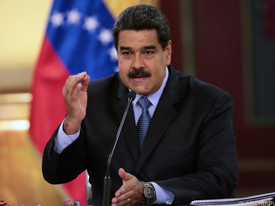 Präsident Maduro steht unter Druck