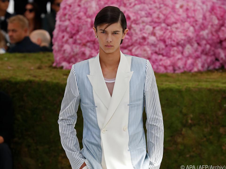 Prinz Nikolai machte sich vor allem als Model einen Namen