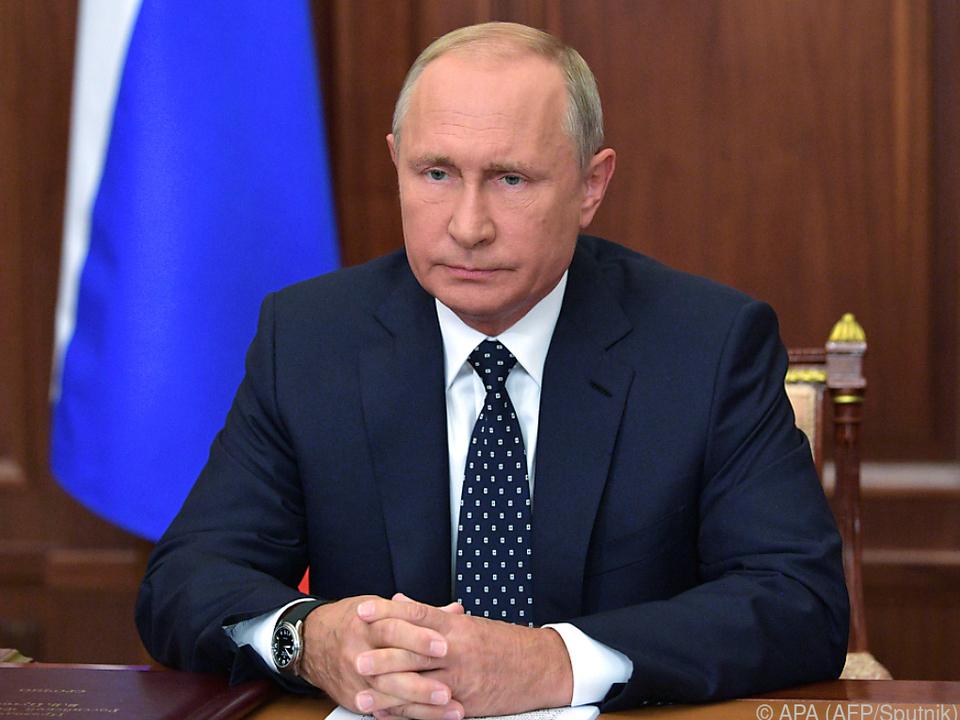 Putin sieht sich zu Änderungen im Pensionssystem gezwungen