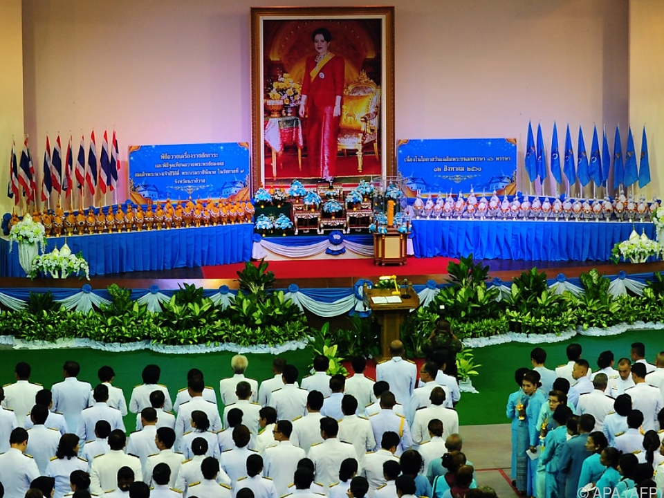 Queen Sirikit wird in Thailand verehrt
