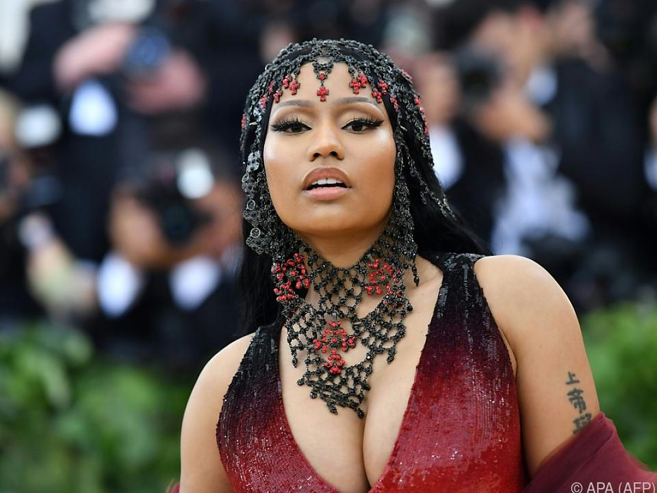 Rapperin Nicki Minaj ist äußerst erfolgreich unterwegs