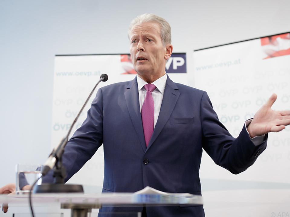 Reinhold Mitterlehner wollte auch OeNB-Präsident werden