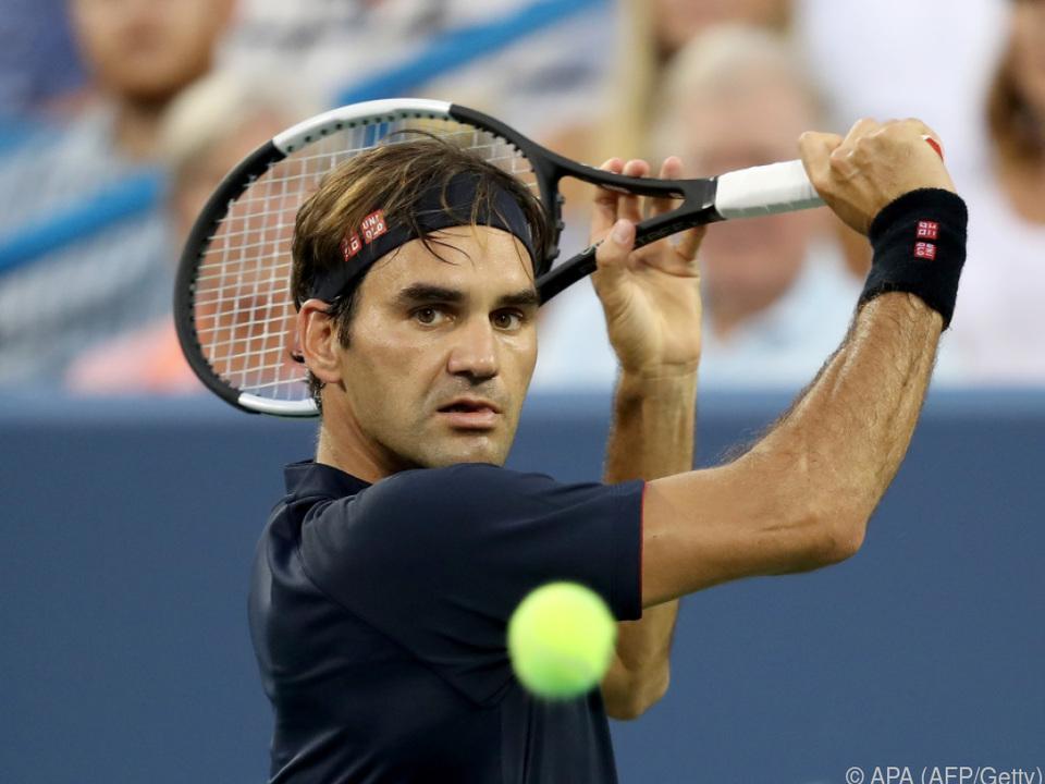 Roger Federer greift nach dem nächsten Titel