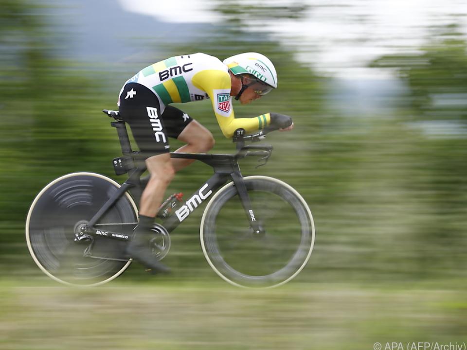 Rohan Dennis über acht Kilometer der Schnellste