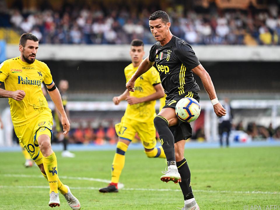 Ronaldo spielte in seinem ersten Pflichtspiel für Juventus durch
