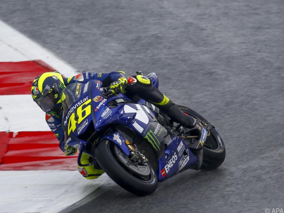 Rossi schaffte es nicht in die Top Ten