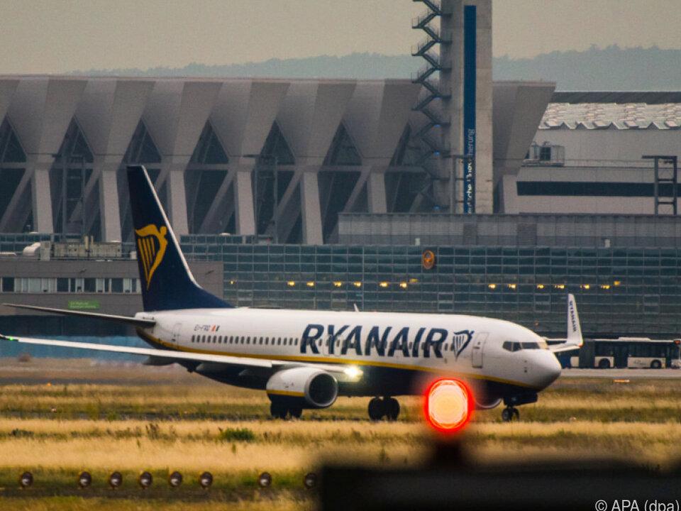 Ryanair war für Details am Wochenende nicht erreichbar