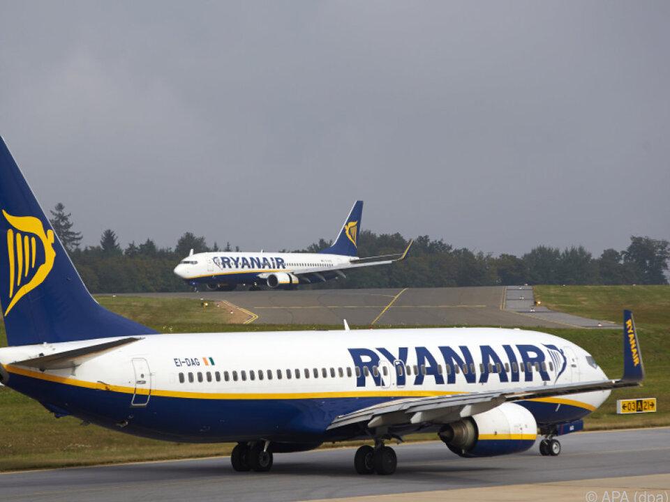 Ryanair zahlt niedrigere Löhne als viele Konkurrenten
