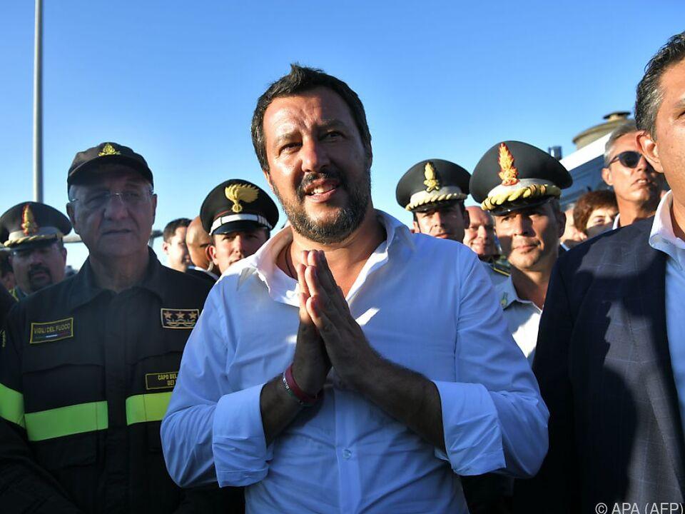 Salvini erklärte die Zuständigkeit würde bei Malta liegen