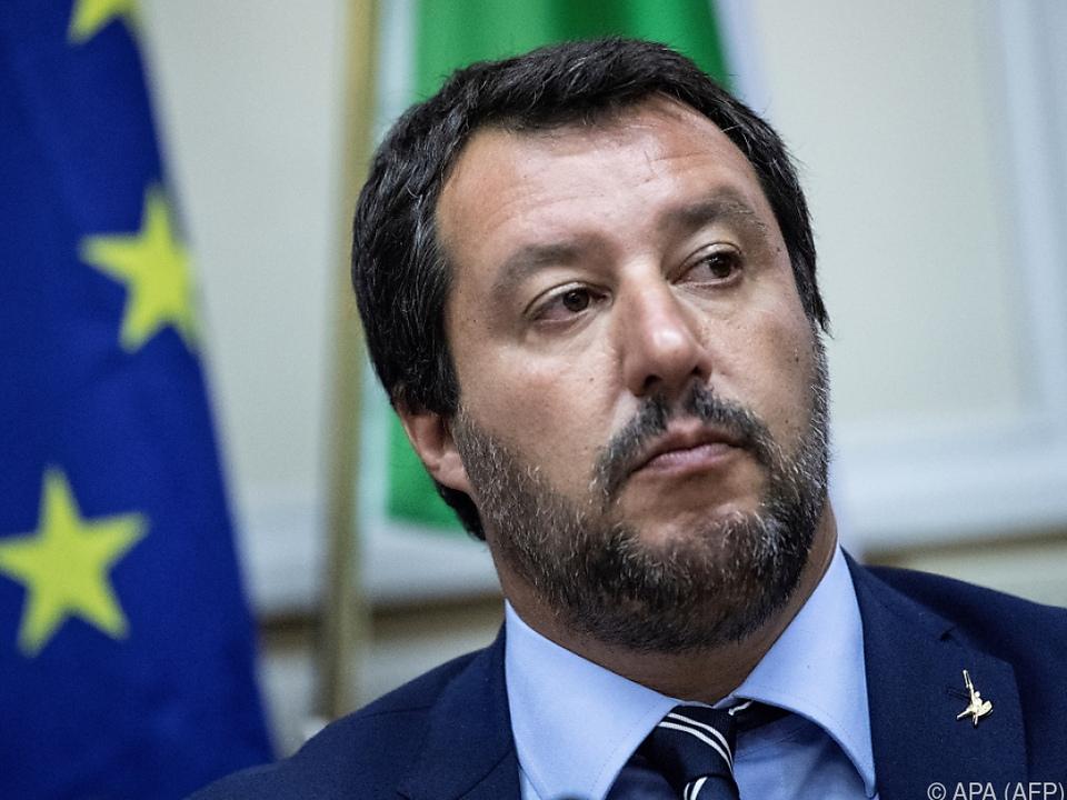 Salvini könnte eine lange Haftstrafe drohen