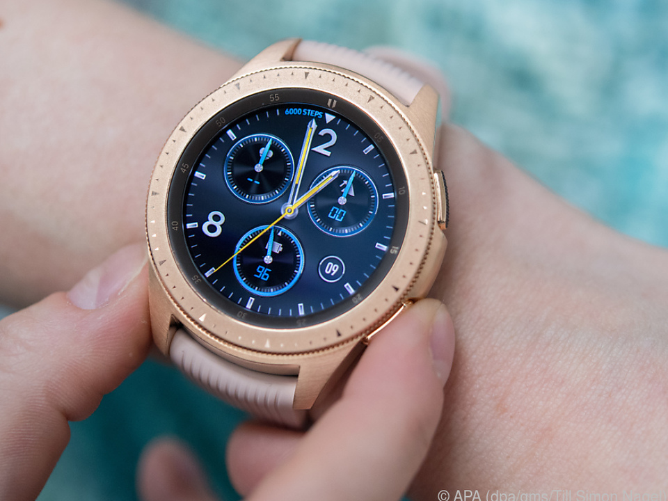 Samsungs Galaxy Watch wird ab 309 Euro angeboten