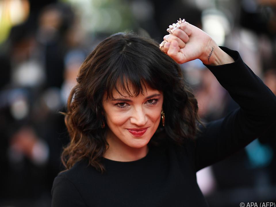 Schauspielerin und Filmemacherin Asia Argento