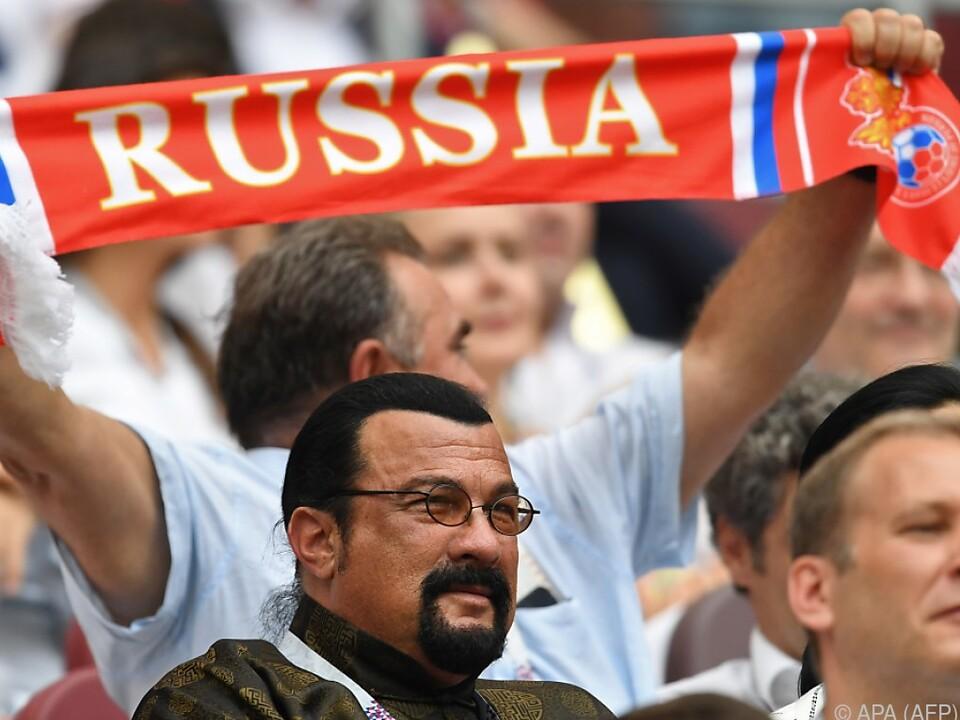 Seagal ist seit 2016 russischer Staatsbürger