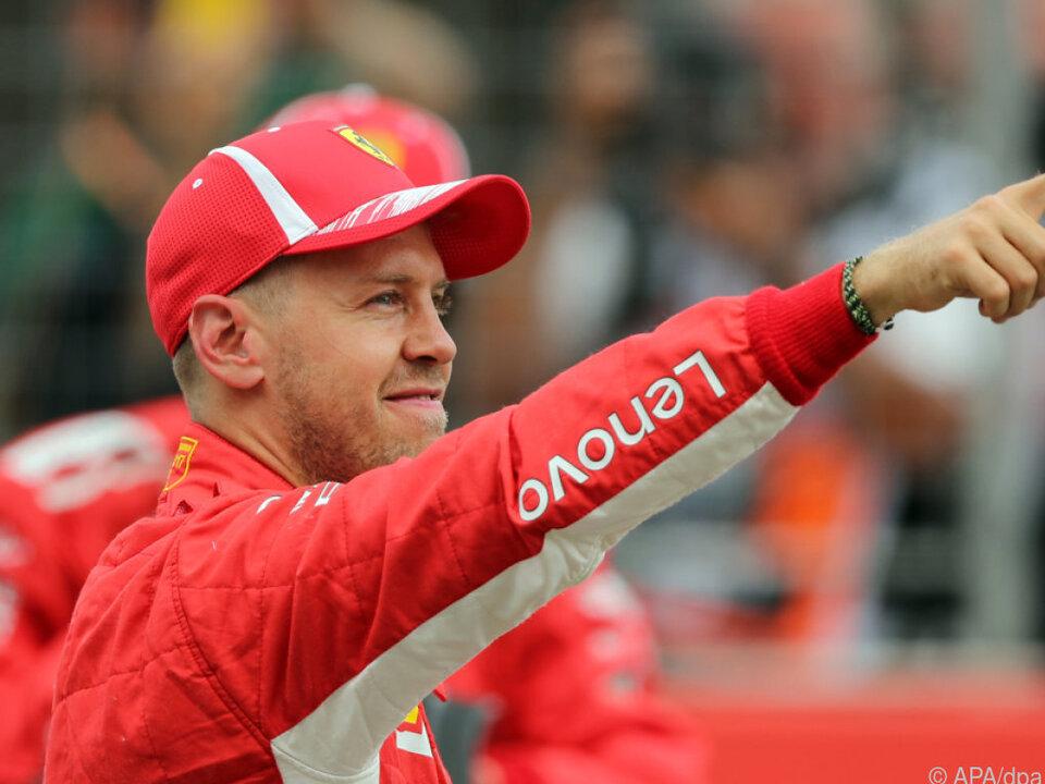 Sebastian Vettel darf sich keinen Fehler mehr erlauben