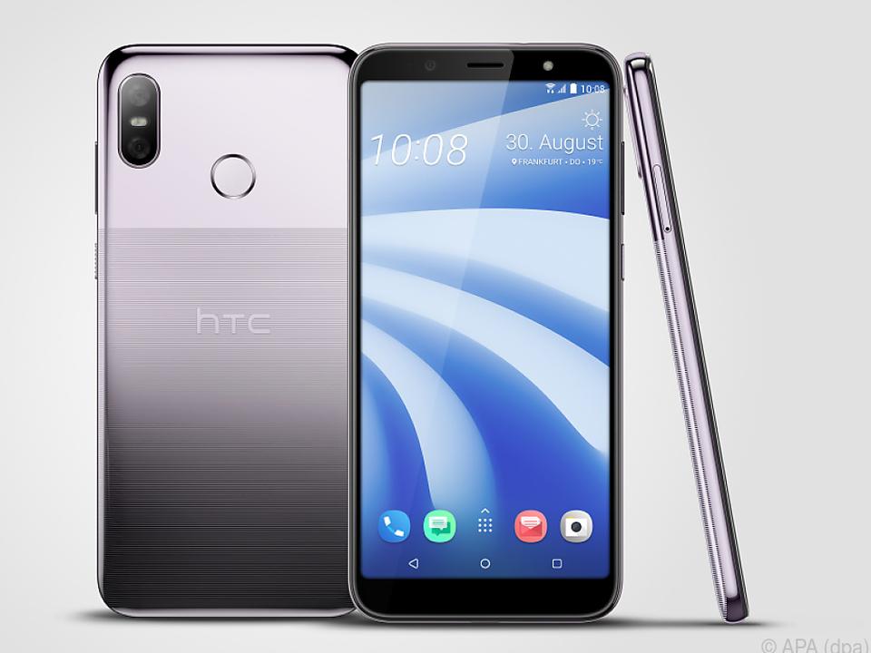 HTC bietet das U12 Life auch in einem hellen Lila an