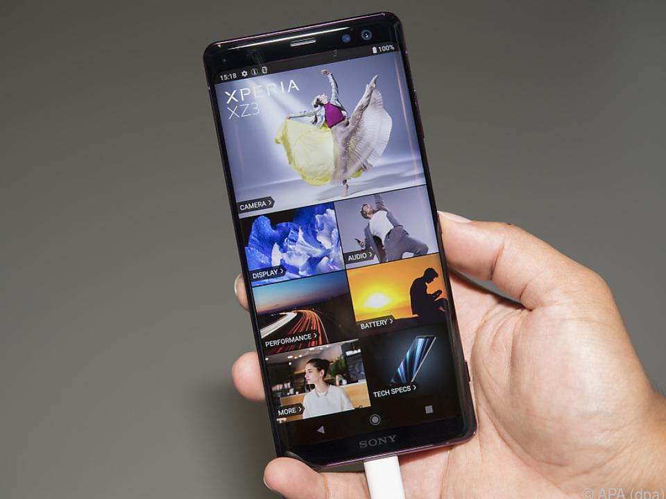 Sony ruft für sein neues Flaggschiff XZ3 einen Preis von 800 Euro auf